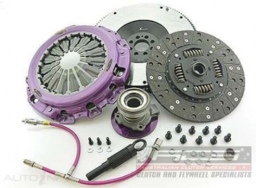 Nissan 370z VQ37HR Xtreme Clutch Single Organic Kit inc SMF and CSC  KNI25688-1A